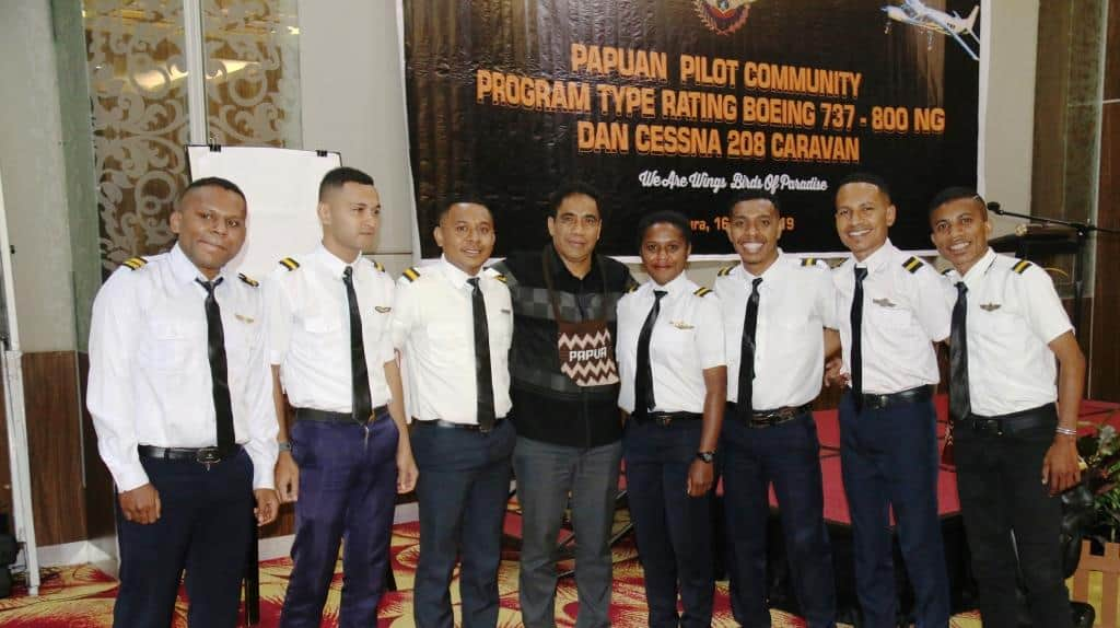 10 pilot asli Papua siap ikuti program type rating
